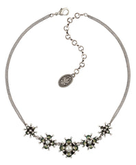 necklace Petit Fleur de Bloom dragonfly antique silver