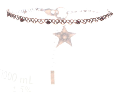 bracelet Sky Lights red antique copper