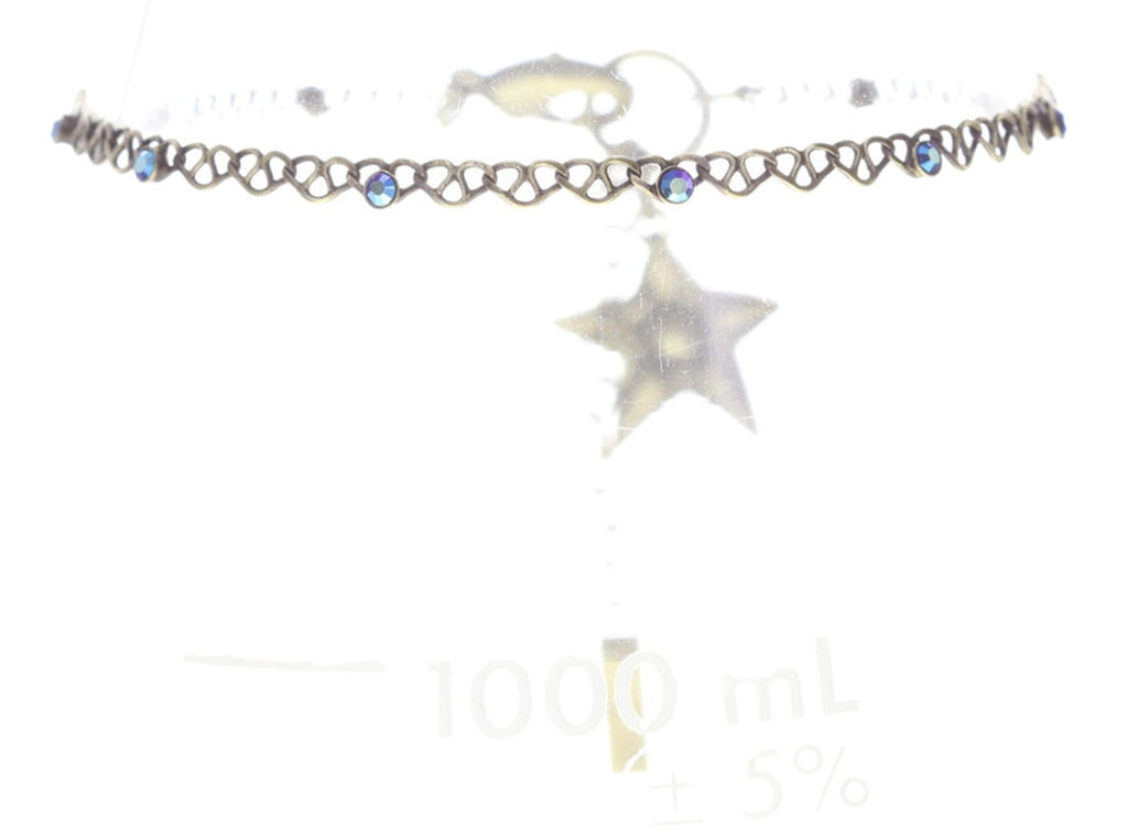 bracelet Sky Lights blue antique brass