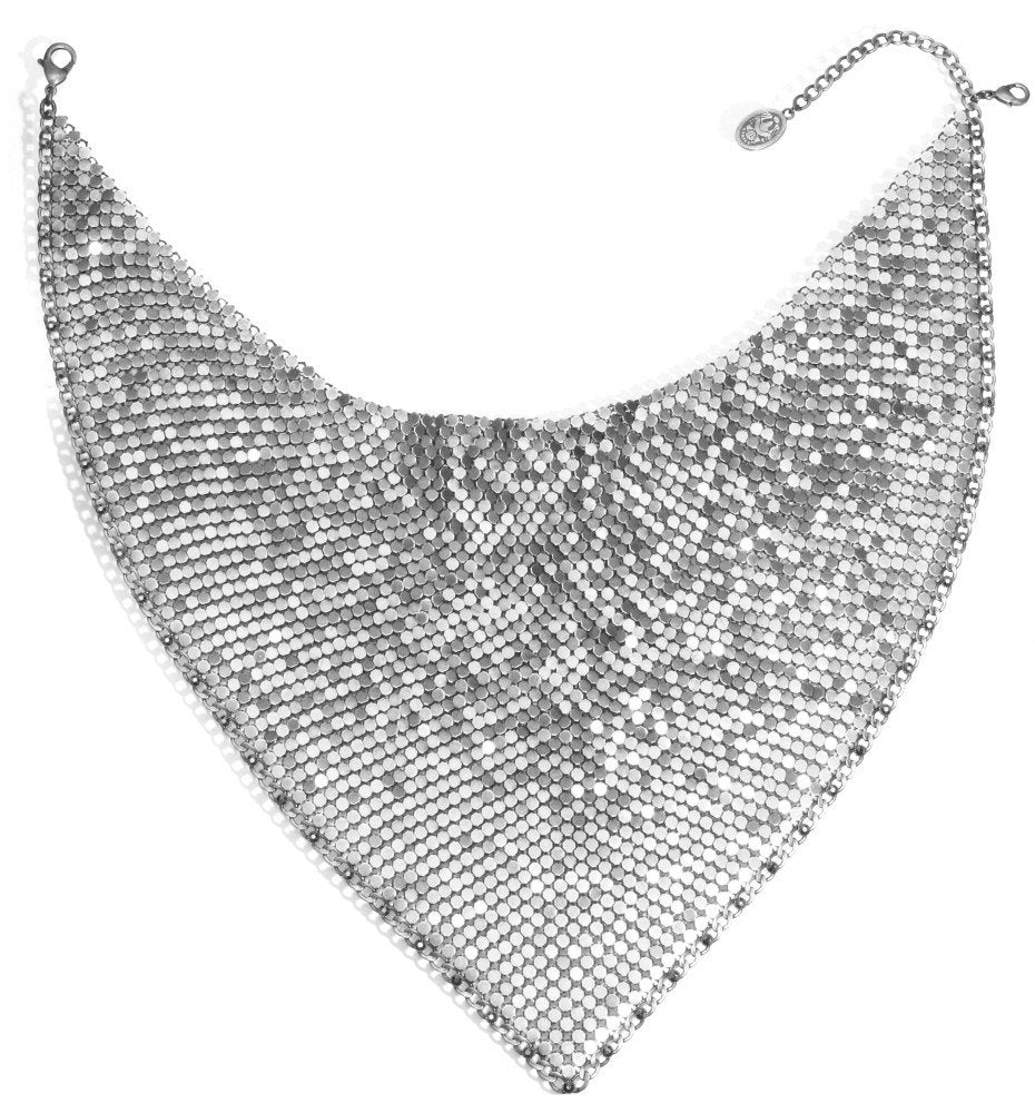 necklace Rock 'n' Glam white antique silver