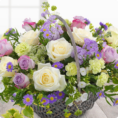 Funeral Flowers Baskets