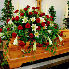 Funeral Flowers Casket Sprays