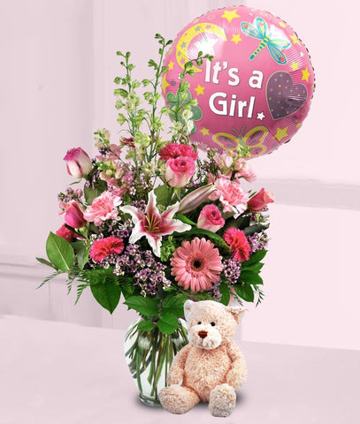 A beautiful baby girl gift