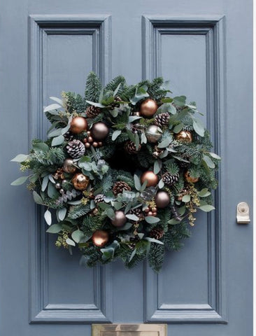 A  special door wreath