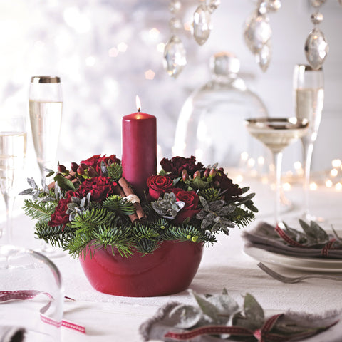 Merry Christmas Table Arrangement