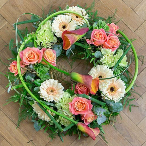 Funeral Flowers - Mother Earth Wreath