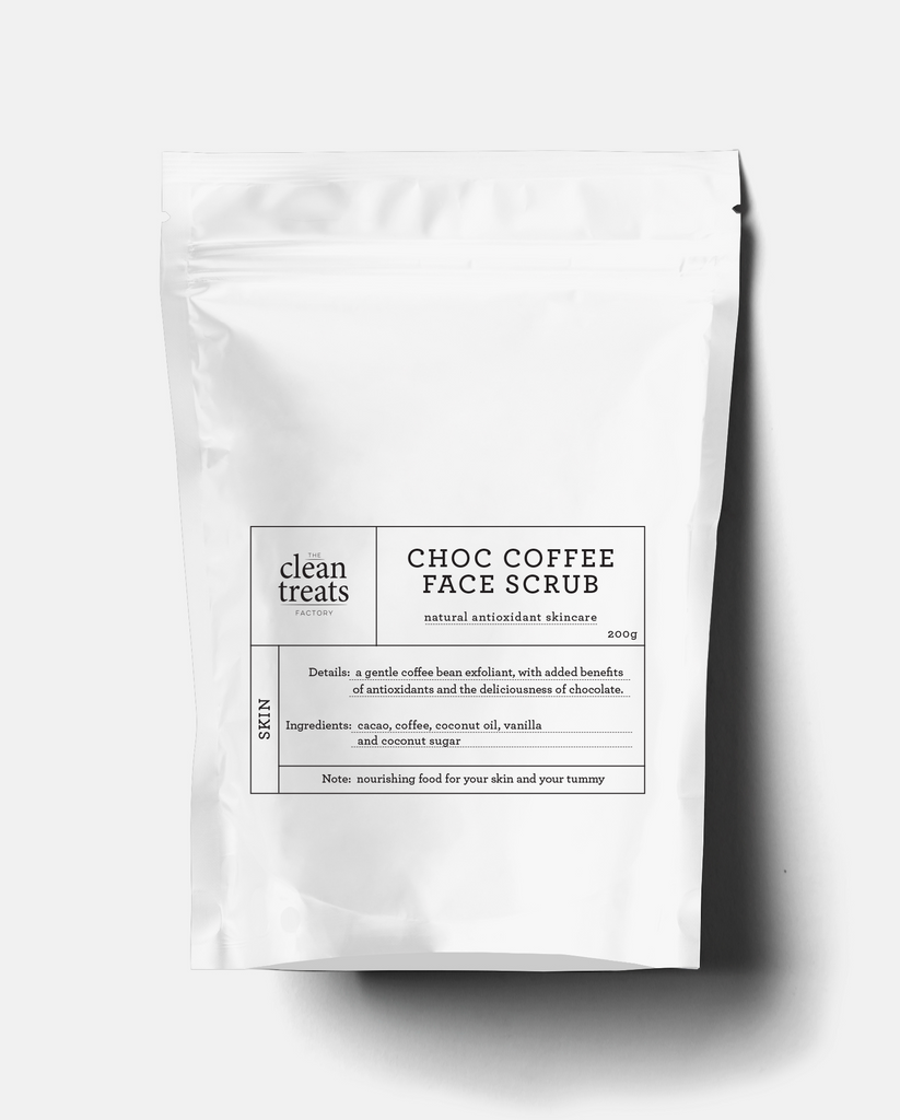 NEW Clean Treats | skin: Choc Coffee Face Scrub