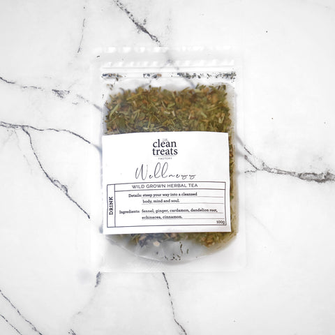 Clean Treats | drink: Wellness Herbal Tea
