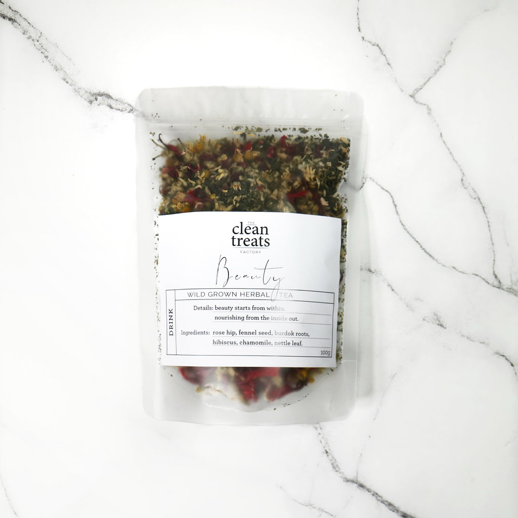 Clean Treats | drink: Beauty Herbal Tea