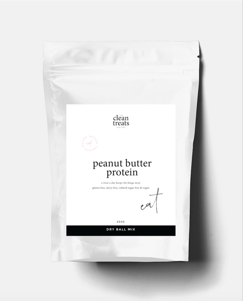 Clean Treats | eat: Peanut Butter Protein Dry Mix