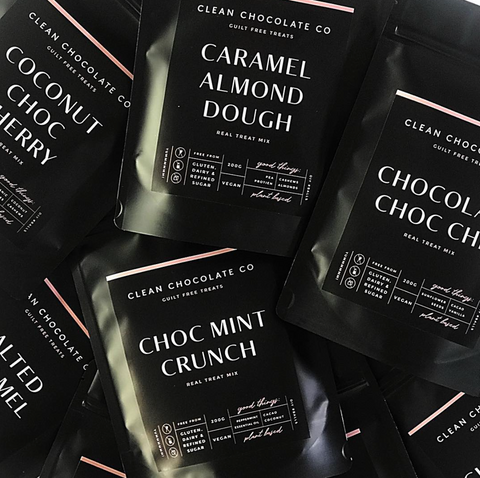 Buy 4 get a FREE Clean Chocolate Co mix