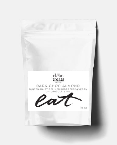Clean Treats | eat: Dark Choc Almond DIY Chocolate Mix