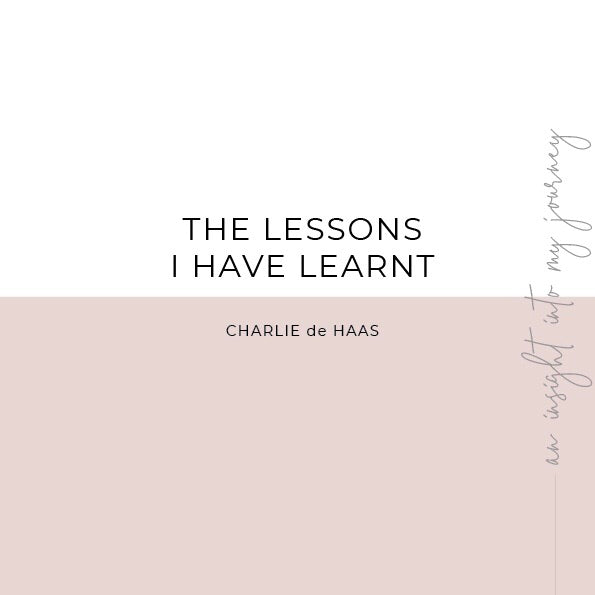 The lessons I have learnt - E book