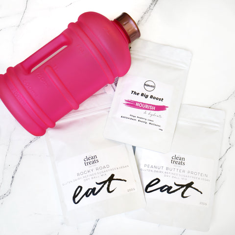 The Big Bottle Bundle 2 - Nourish & Hydrate - PINK