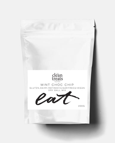 Clean Treats | eat: Mint Choc Chip Dry Mix
