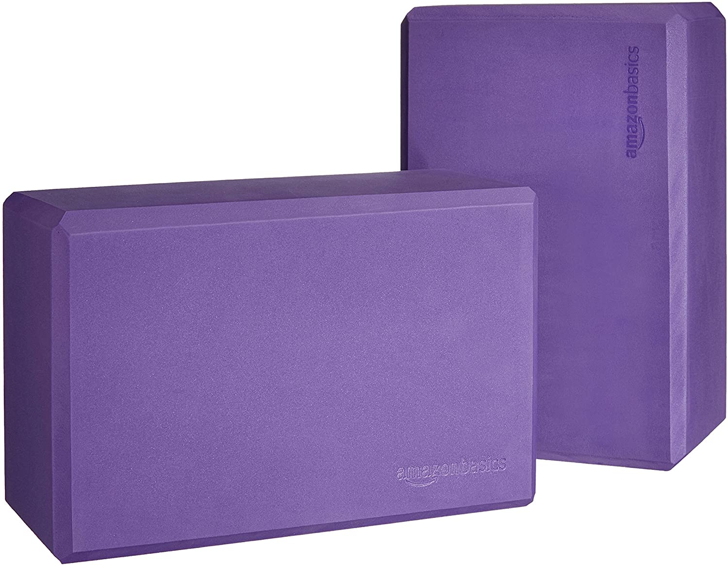 Foam Yoga Blocks, Set of 2