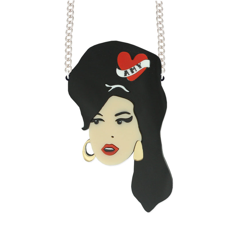 Amy Winehouse brooch