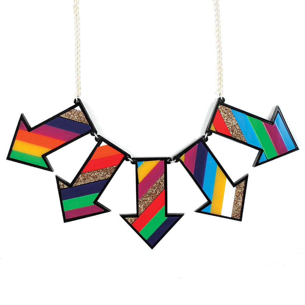 Statement Arrow Necklace