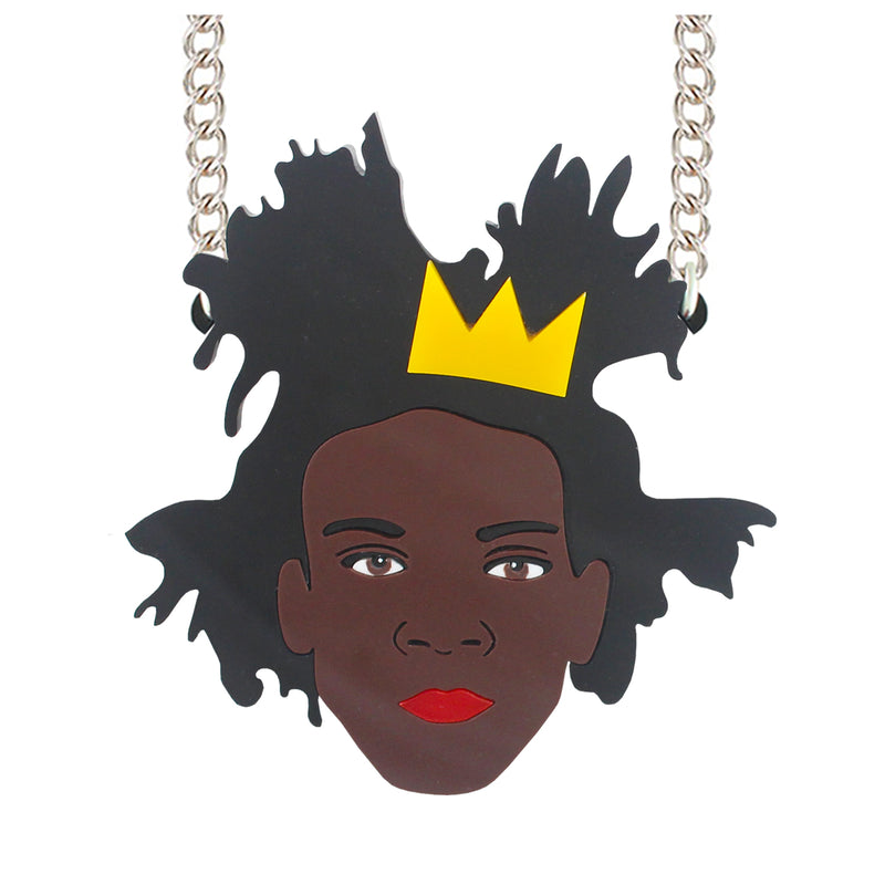 Basquiat necklace