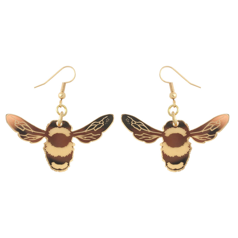 Bee ear-rings