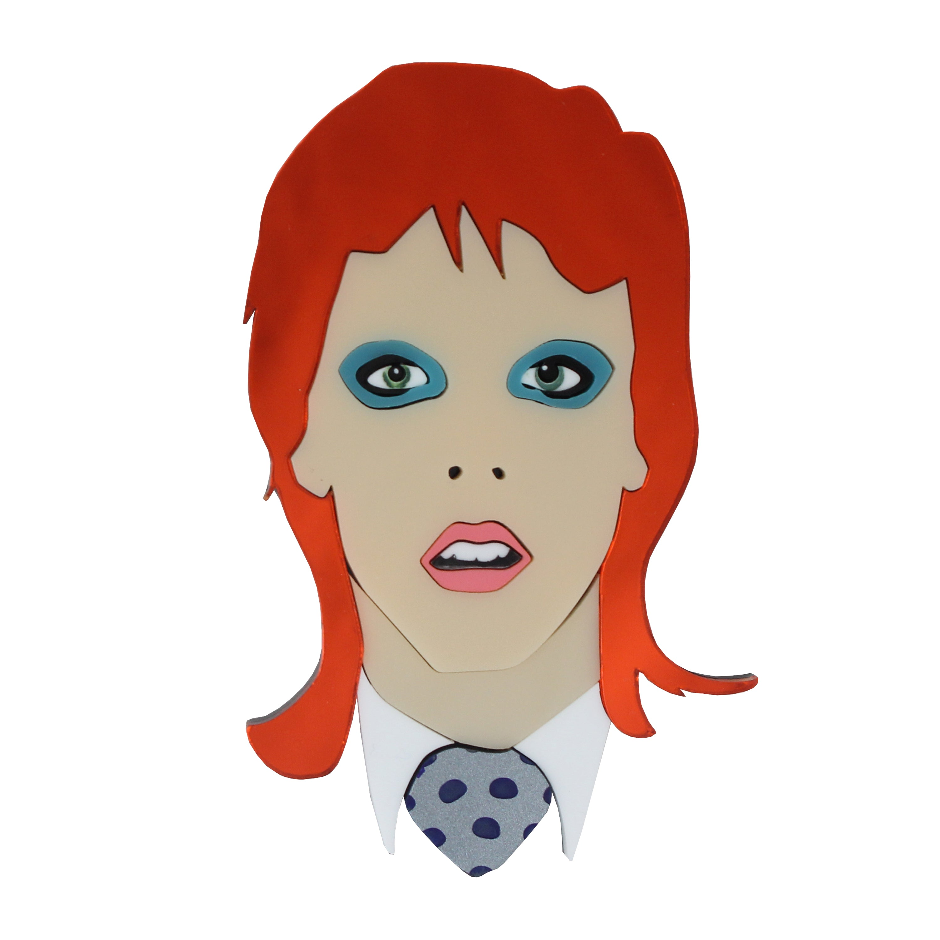 NEW! Bowie brooch
