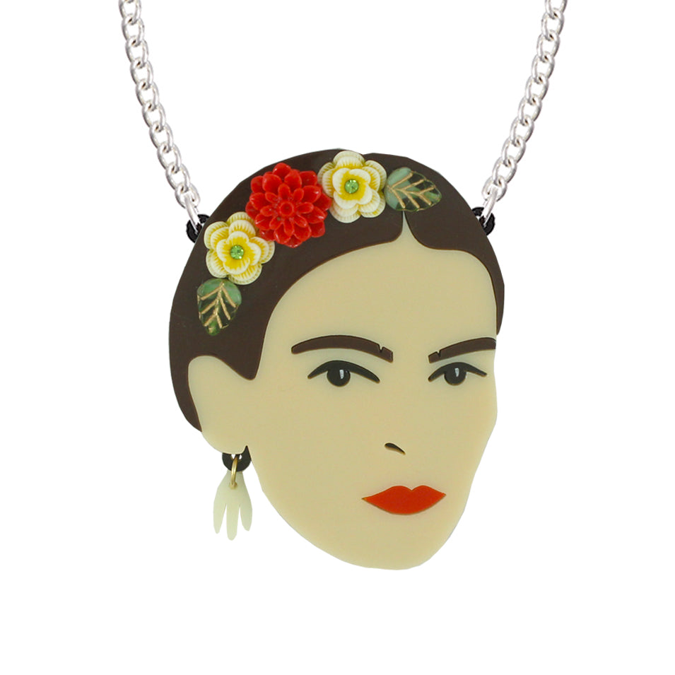 Limited Edition Frida Kahlo necklace