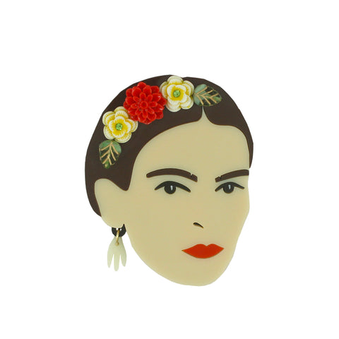 Limited Edition Frida Kahlo brooch