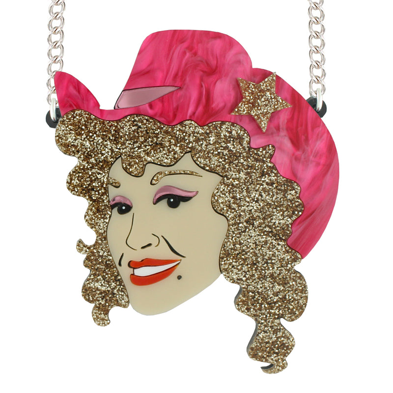 Dolly Parton necklace