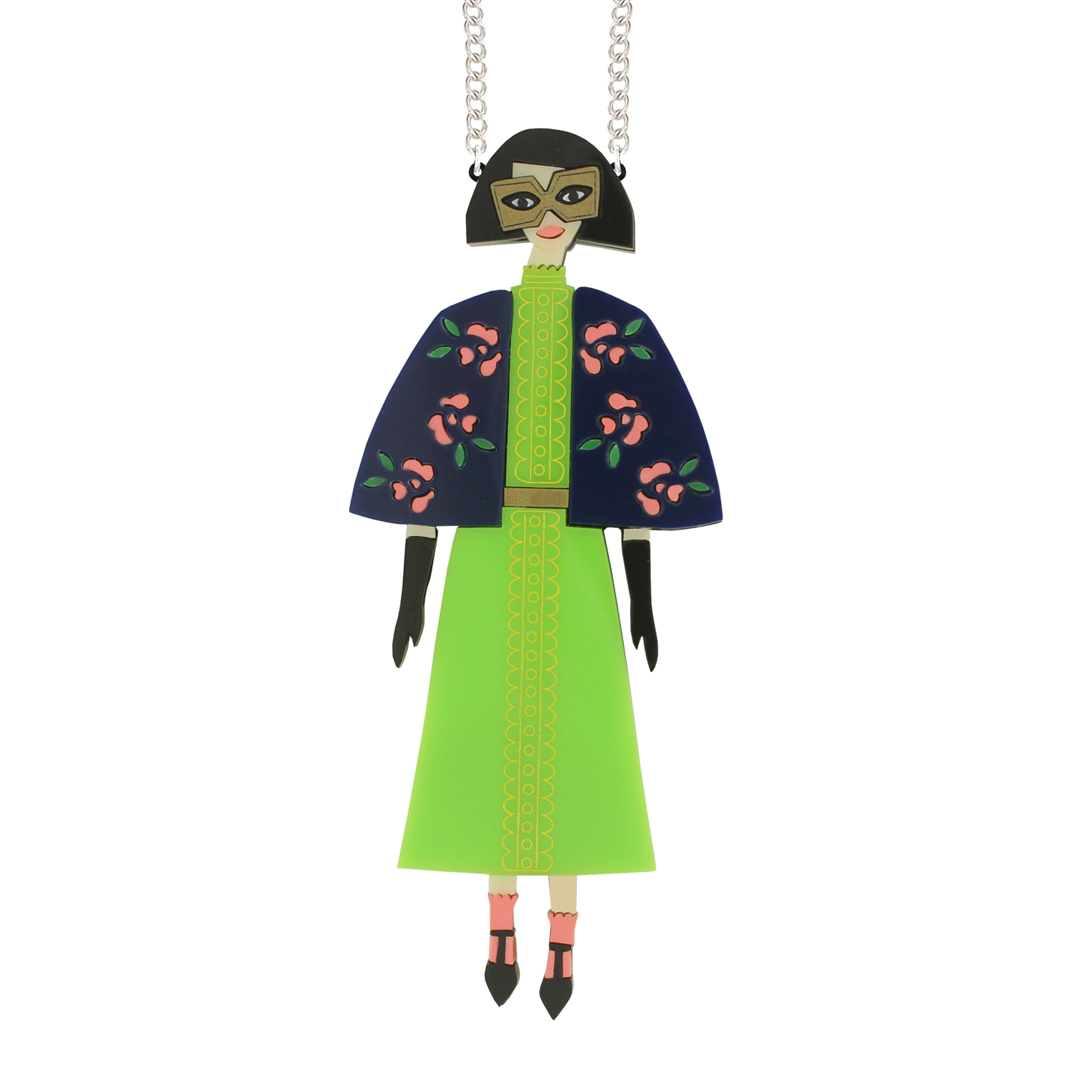 Edith necklace (with cape)