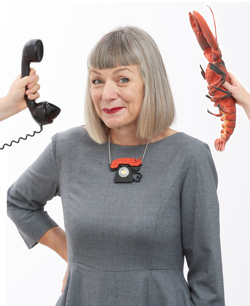 Lobster Telephone necklace