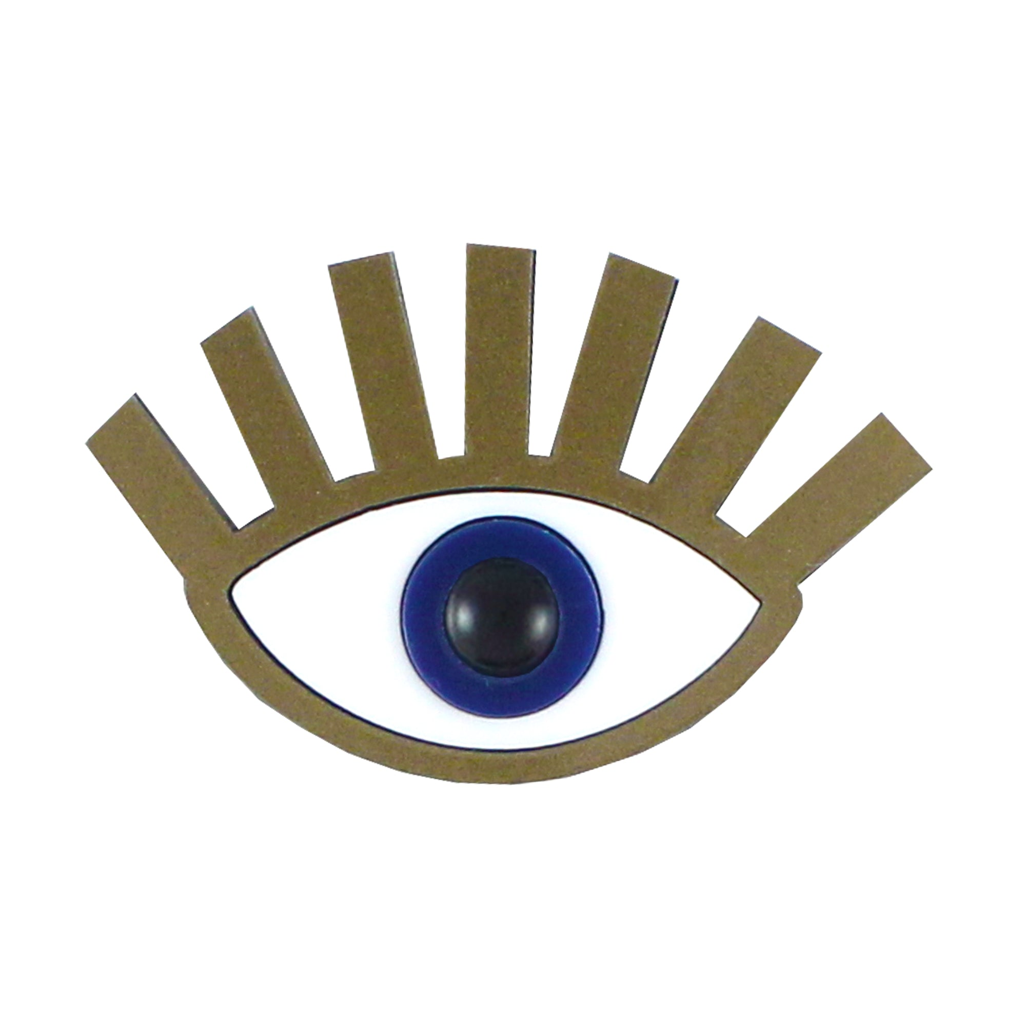 Ursula Eye Brooch