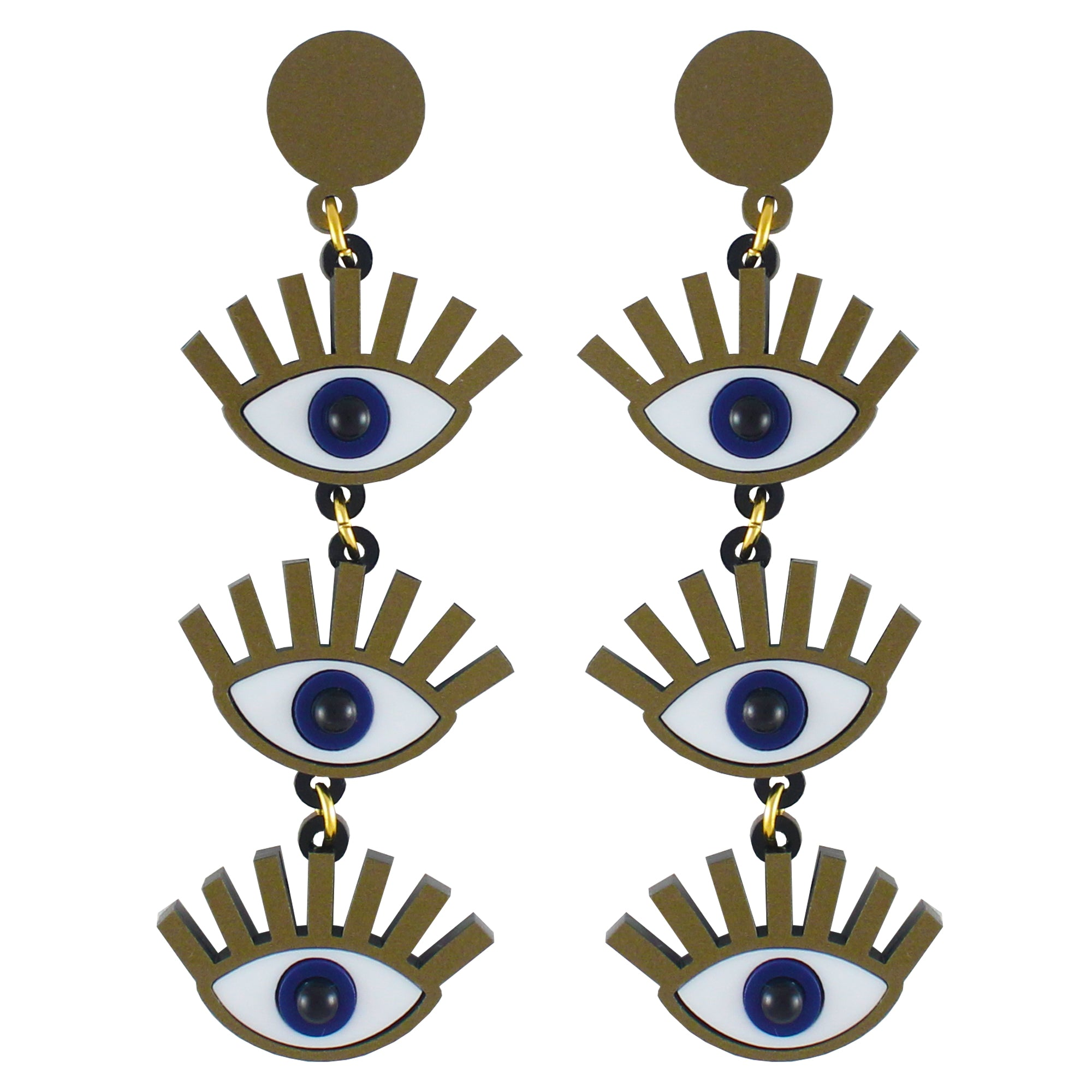 Ursula Eye Ear-rings