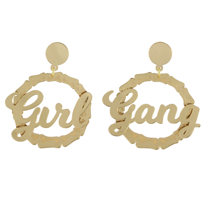 Rosie the Riveter ear-rings