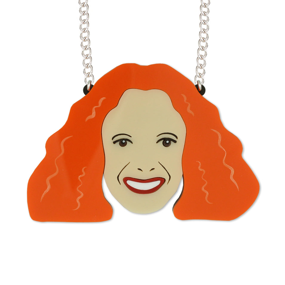Grace Coddington necklace