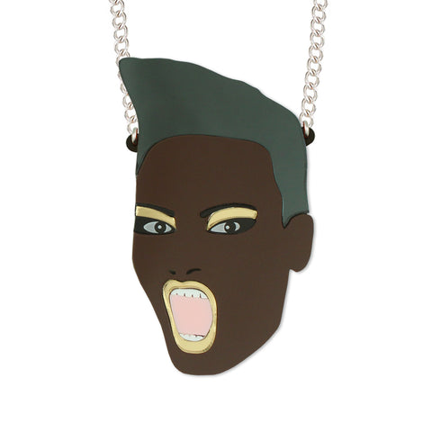 Grace Jones necklace