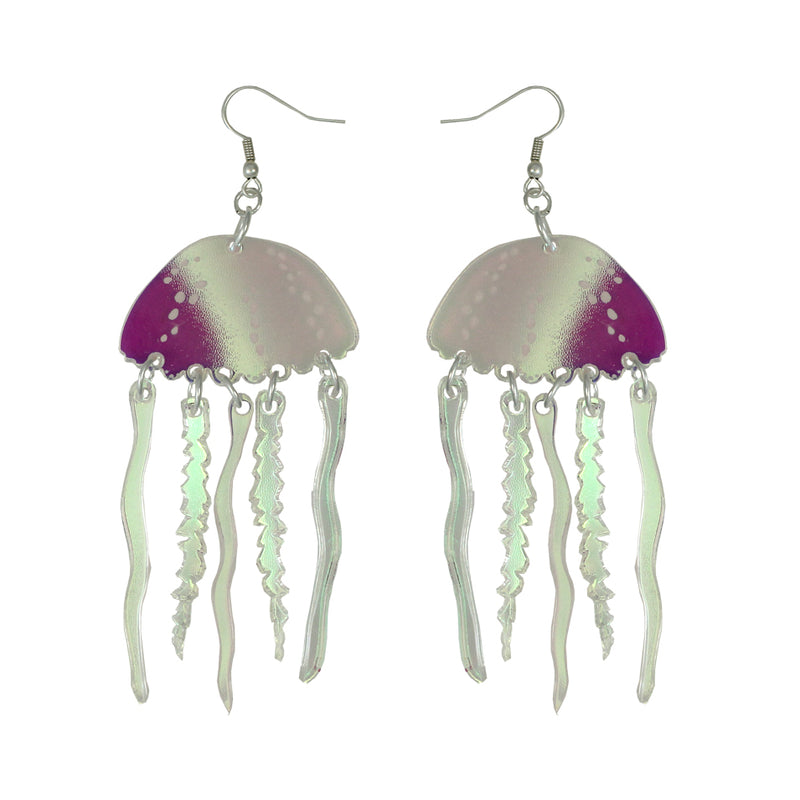Jellyfish ear-rings