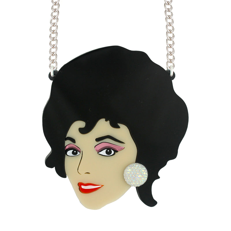 Aretha Franklin brooch