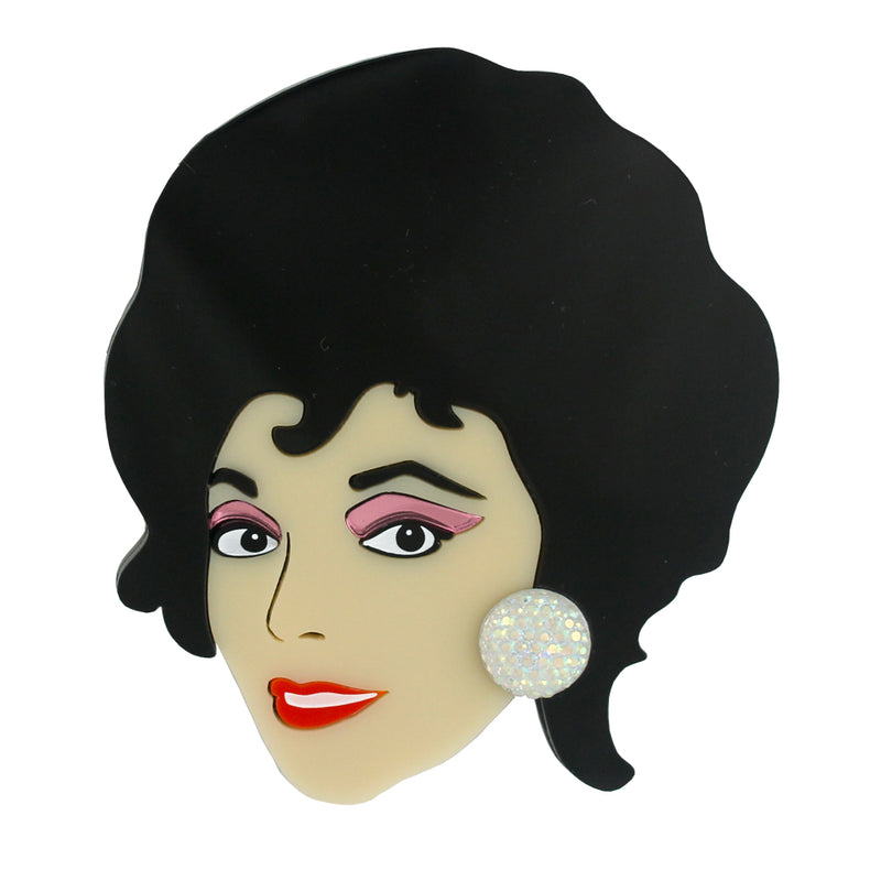 Joan Collins brooch