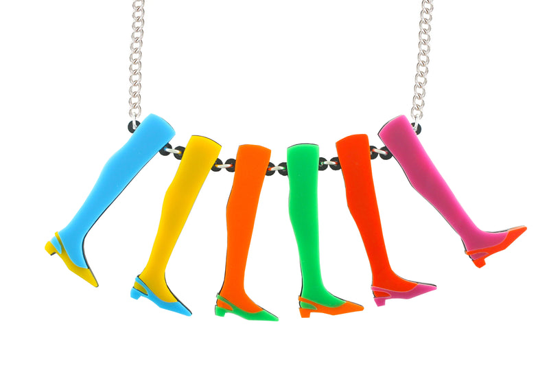 Legs 11 Necklace