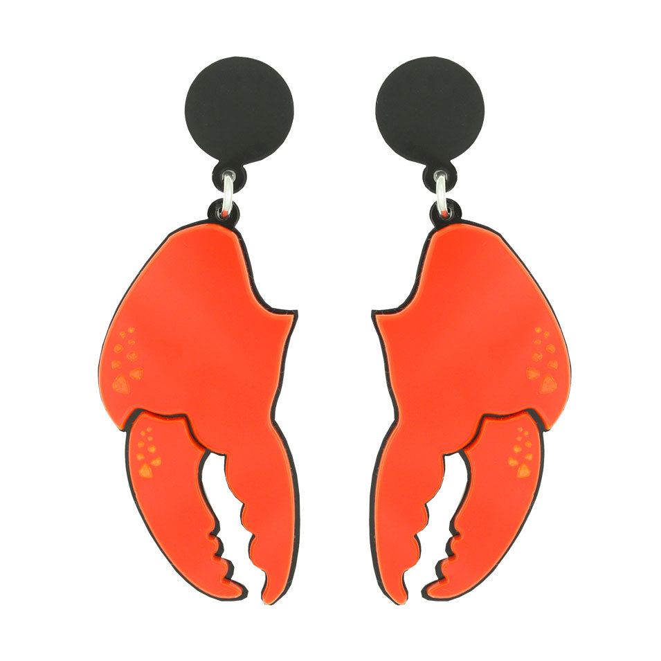 Lobster Claw Ear-rings