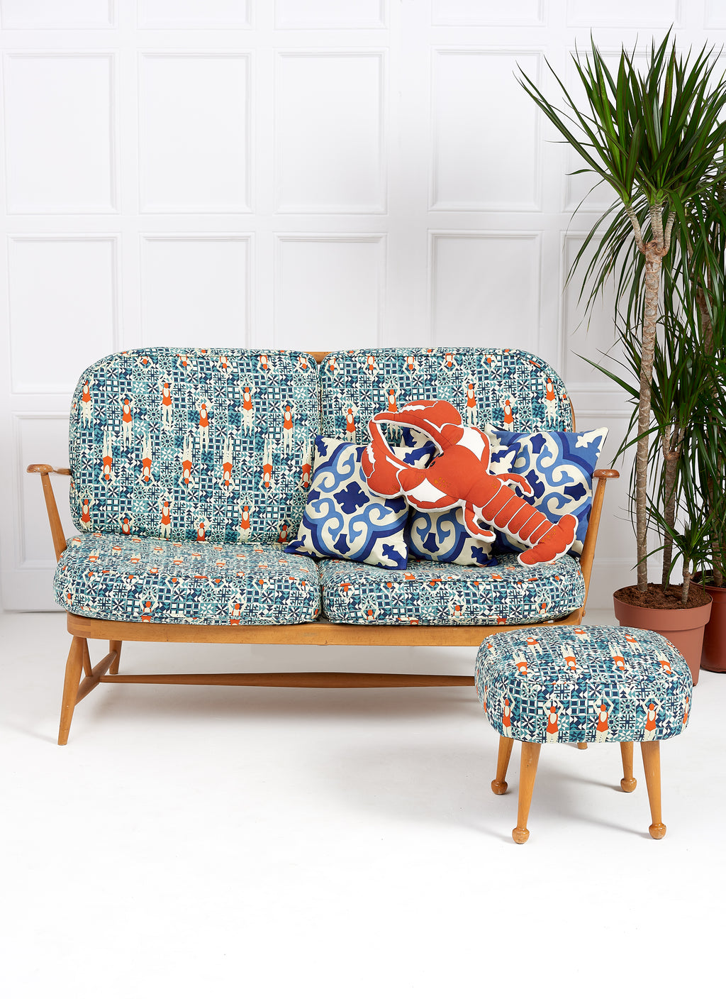 Lobster cushion set