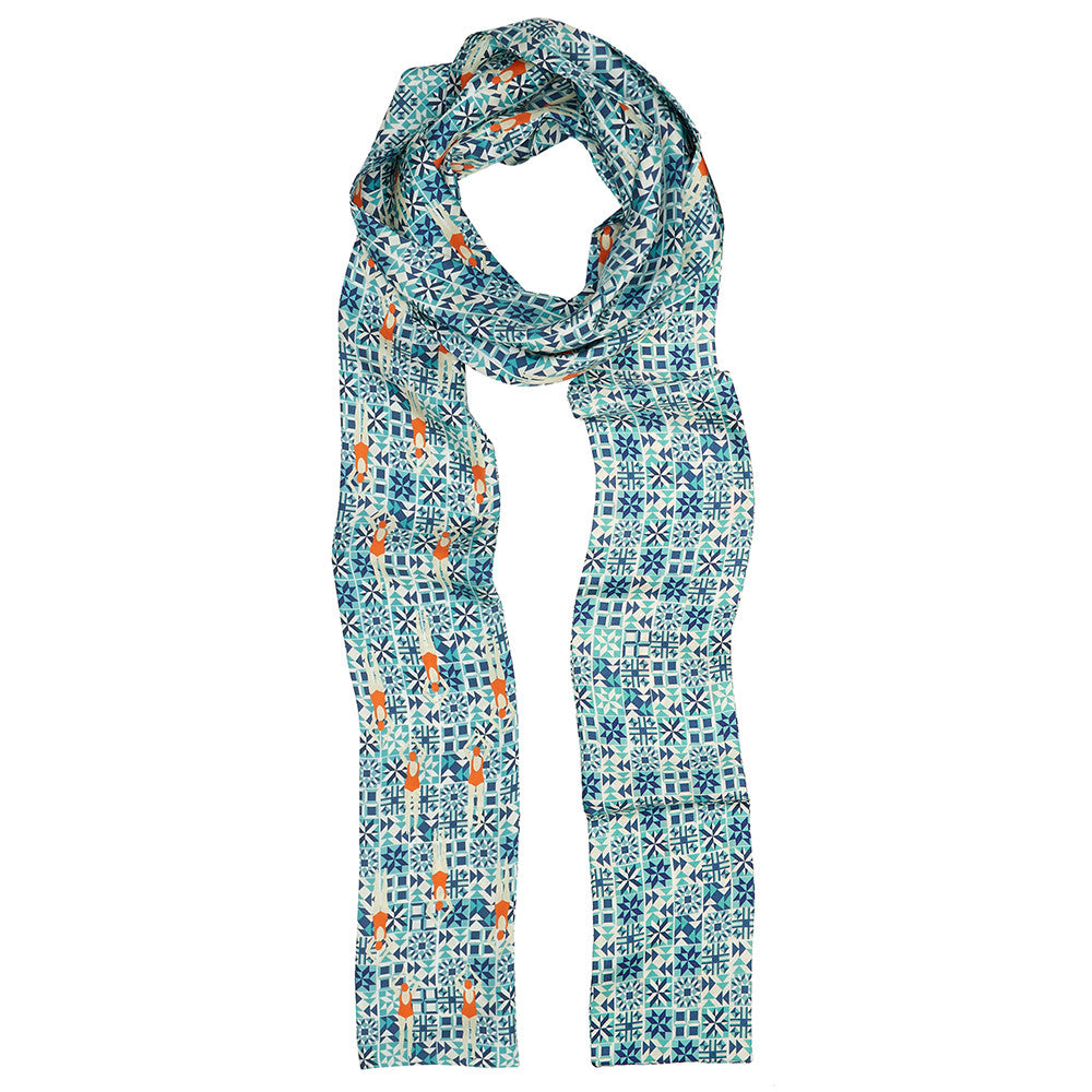 Skinny Swimmers Scarf