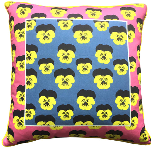 Pansy Pop Cushion