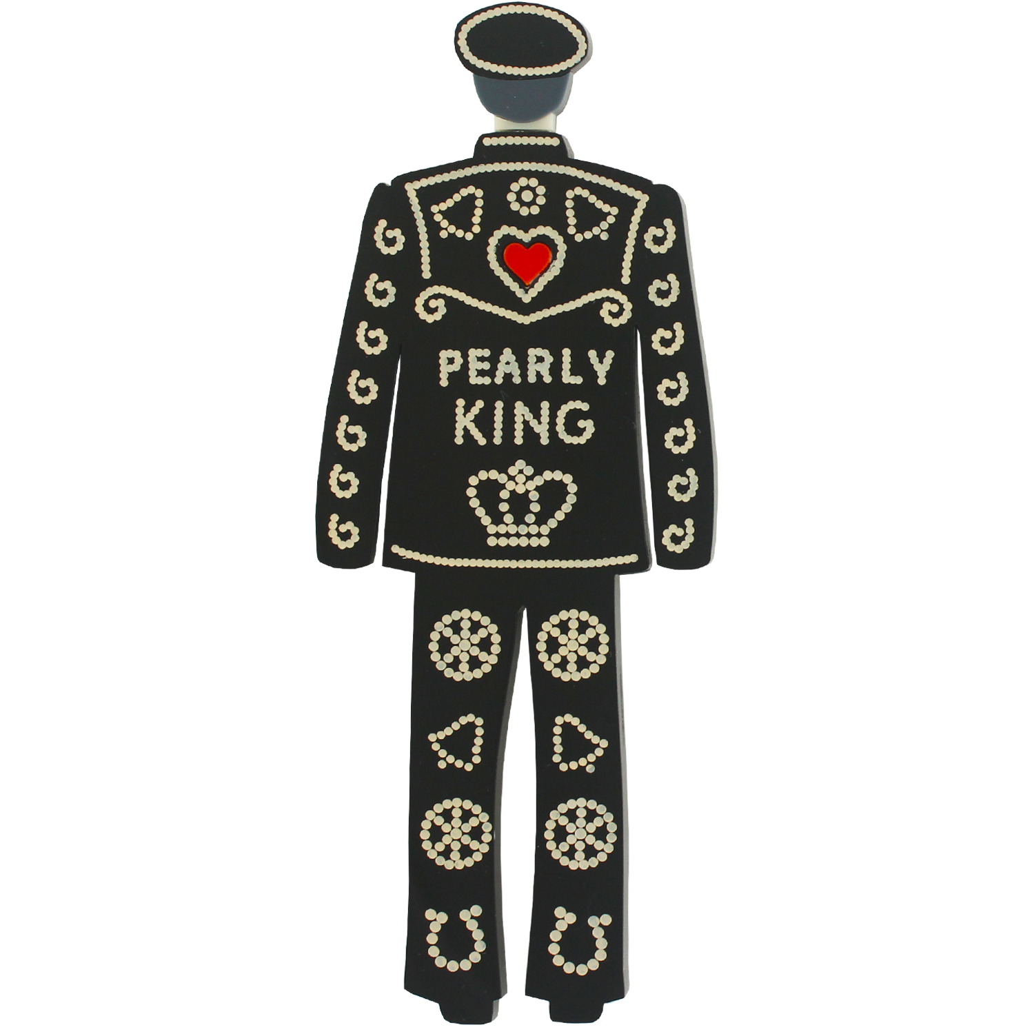 Pearly King brooch