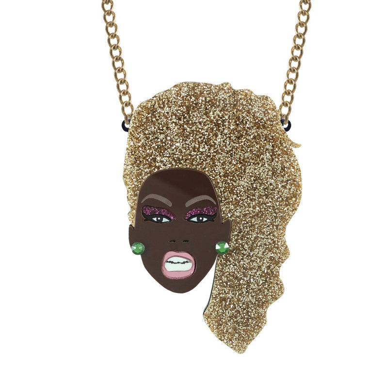 Ru Paul necklace