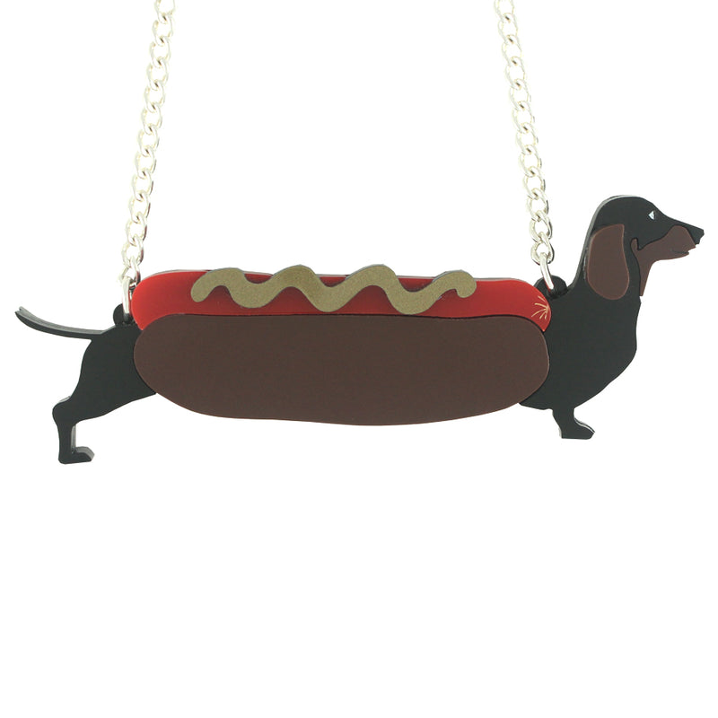 Sausage Dog Necklace