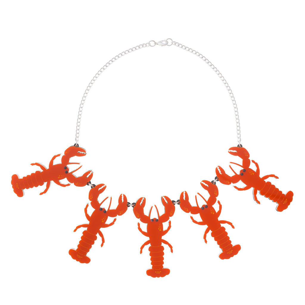 Statement Lobster Necklace