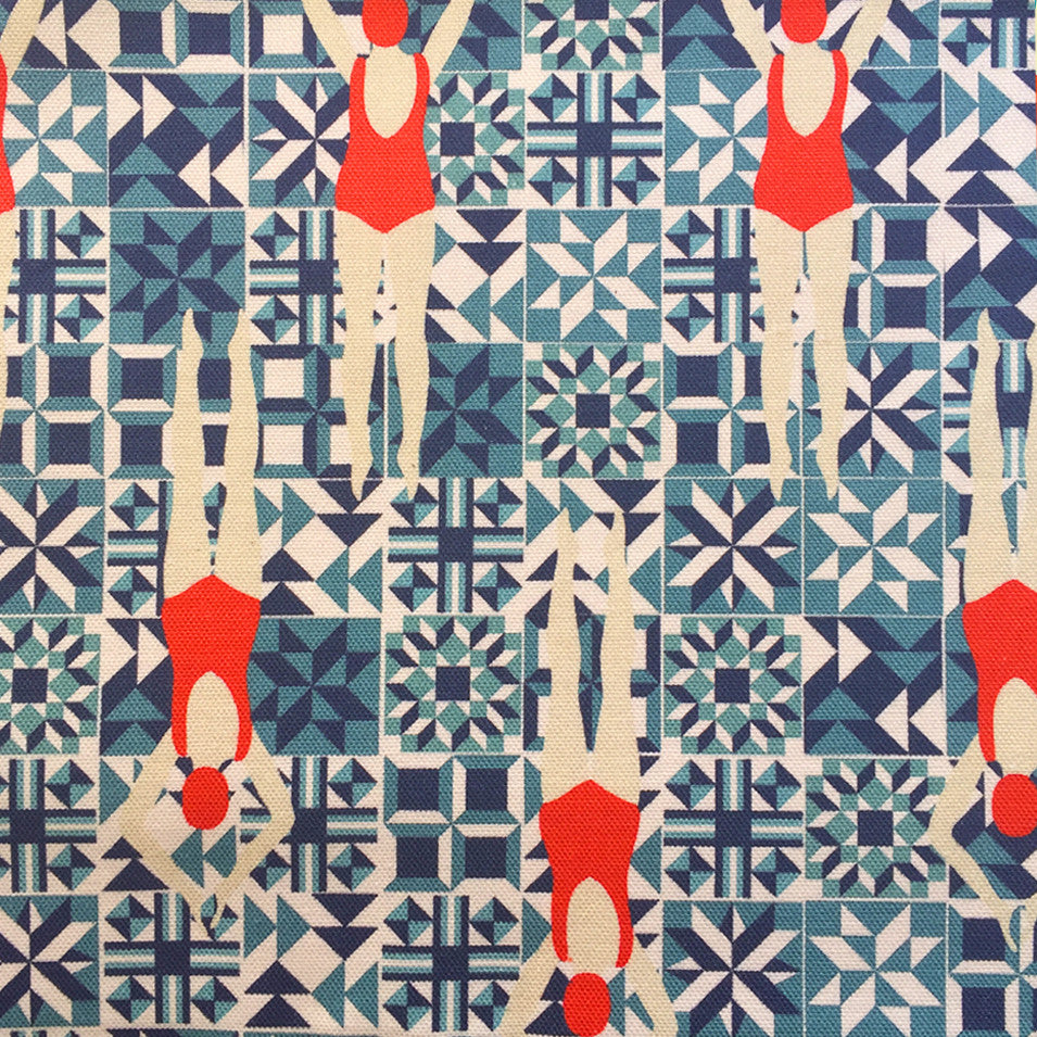 Swimmers by the metre - Half Panama Cotton