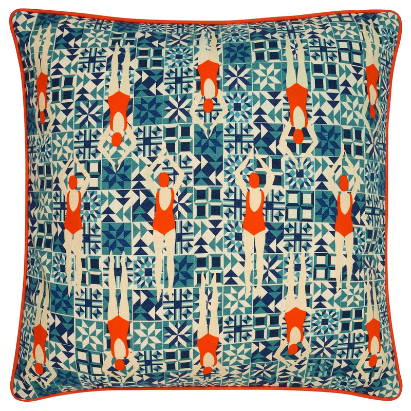 Velvet Pheasant Cushion