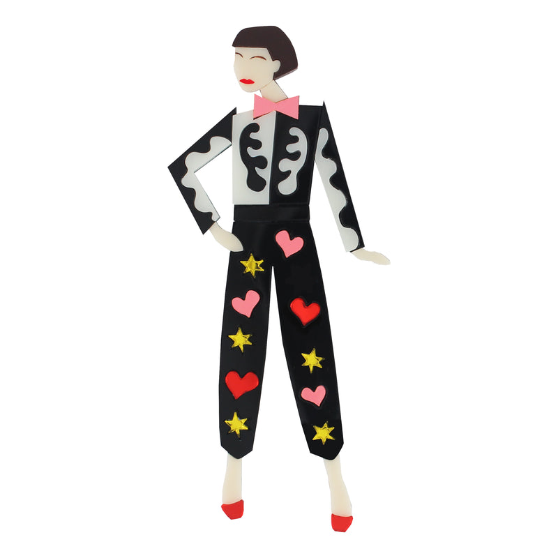 NEW! Peggy Moffitt brooch